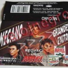 Música de colección: CARÁTULA DE CASETE DE MECANO - GRANDES ÉXITOS REGALO DE ARIEL - ANA TORROJA GRUPO ESPAÑOL MÚSICA POP. Lote 55011695