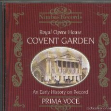 Música de colección: COVENT GARDEN 1904-1939 - CD MUSICAL. Lote 55447998