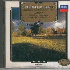 CD Musica Clasica: Chopin: Obras para piano por Vladimir Ashzenazy