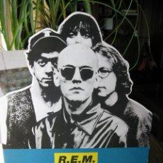 Música de colección: R.E.M. REM DISPLAY PUBLICIDAD PARALLEL. CARTÓN.CON PIE (VER FOTOS) 41 CM ALTO X 29,5 CM ANCHO.. Lote 56743946