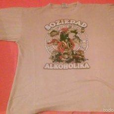 Música de colección: CAMISETA SOZIEDAD ALKOHOLIKA COLOR ARIDO. Lote 58778581