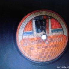 Música de colección: VALENCIA F SANZ VENTRILOCUO DISCO DEL MUÑECO AUTOMATA TORERO Y EL BORRACHO. Lote 56998533