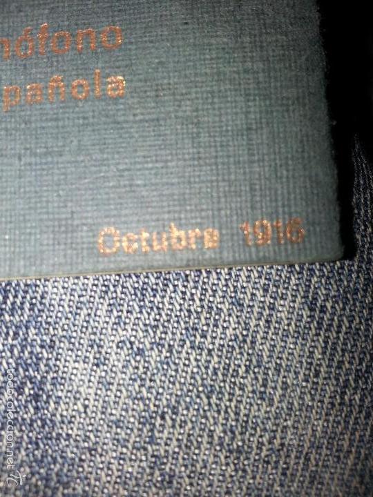 Música de colección: RAQUEL MELLER COLECCION DE COUPLETS MARCA GRAMOFONO 1916 LA VOZ DE SU AMO - Foto 5 - 57076722