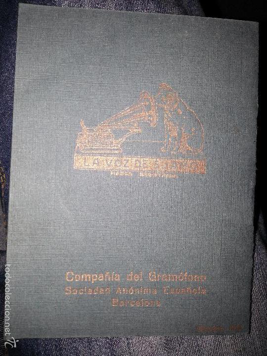 Música de colección: RAQUEL MELLER COLECCION DE COUPLETS MARCA GRAMOFONO 1916 LA VOZ DE SU AMO - Foto 10 - 57076722