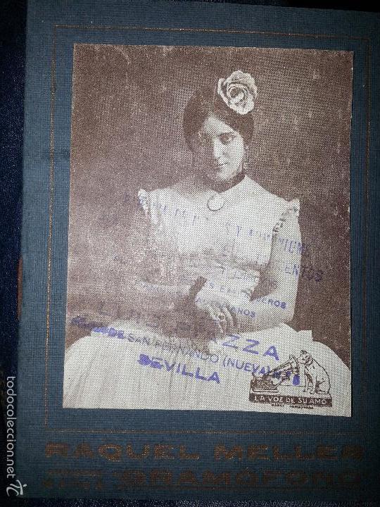 Música de colección: RAQUEL MELLER COLECCION DE COUPLETS MARCA GRAMOFONO 1916 LA VOZ DE SU AMO - Foto 11 - 57076722