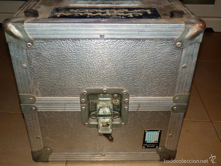 Música de colección: CAJA METALICA PORTA VINILOS DISCOS DJ FACET BOX PORTAVINILOS ALUMINIO CIERRES PERFECTOS VER FOTOS - Foto 3 - 146597372
