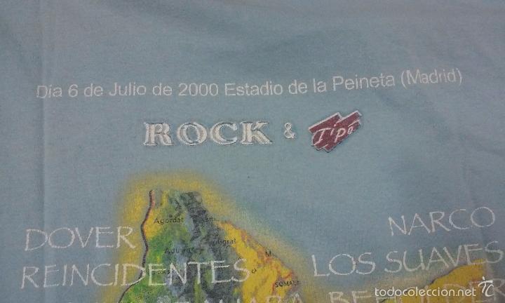 Música de colección: CAMISETA FESTIVAL EN AYUDA DEL CUERNO DE ÁFRICA AÑO 2000 -MADRID- - Foto 4 - 58264724