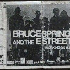 Música de colección: ENTRADA BRUCE SPRINGSTEEN & THE E STREET BAND, EN BILBAO. Lote 58685500