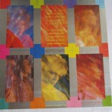 Música de colección: OLE OLE (VICKY LARRAZ) - CARPETA BLANDA INTERIOR DEL LP VOY A MIL 1984 SPAIN (SIN DISCO). Lote 60917287