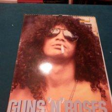 Música de coleção: GUNS 'N' ROSES - CALENDARIO DE PARED AÑO 1995 -COMPLETO CON LOS 12 MESES - 29,5 X 42 CM.. Lote 61533888