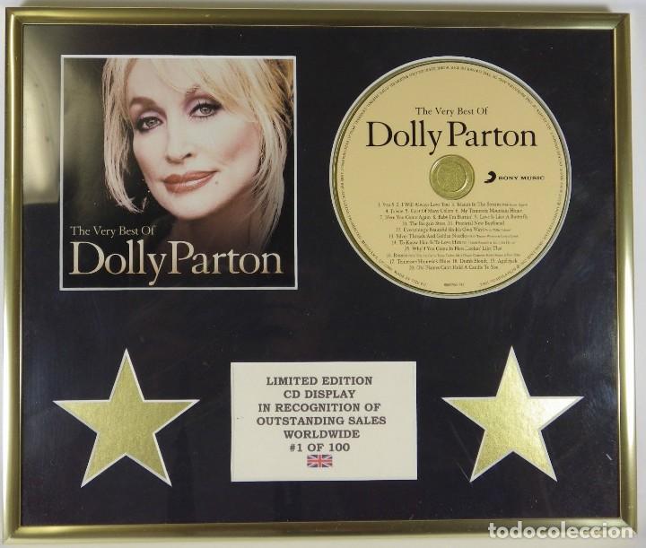 MUY BONITO CD DISPLAY DE DOLLY PARTON IDEAL PARA FANS DE LA CANTANTE Y ACTRIZ EDICION LIMITADA A 100 (Música - Varios)