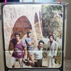 Música de colección: POSTER DE ESCOBARIANO Y LOS XUYOS. Lote 65248059