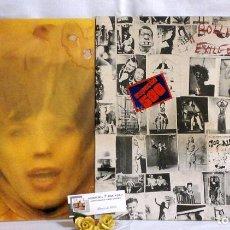 Música de colección: THE ROLLING STONES, DOS CARATULAS O CARPETAS DE DISCOS DE LA ÉPOCA. AÑO 1972. Lote 65691926
