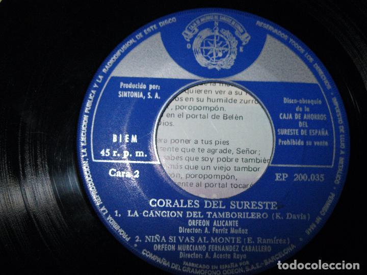 Música de colección: CAJA SURESTE DE ESPAÑA ORFEON DE ALICANTE STELLA - MARI - Foto 4 - 23826649