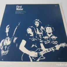 Música de colección: SHARKS - CARPETA BLANDA INTERIOR DEL LP FIRST WATER 1973 SPAIN (SIN DISCO). Lote 67491409