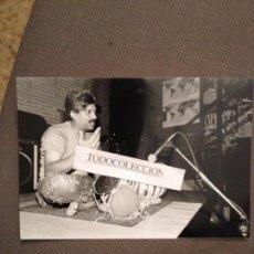 Música de colección: FOTO ORIGINAL TRILOK GURTU, SELLO FOTO ANTONIO NARVAEZ . Lote 67919505