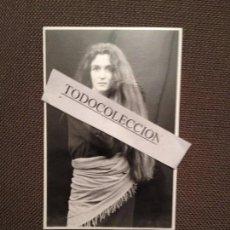 Música de colección: FOTO ORIGINAL MARILIS ORIONAA 1994, FOTO GERARD CAUQUILT. Lote 67920021