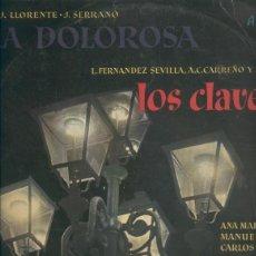 Música de colección: DISCO LP: LA DOLOROSA Y LOS CLAVES. Lote 69554253