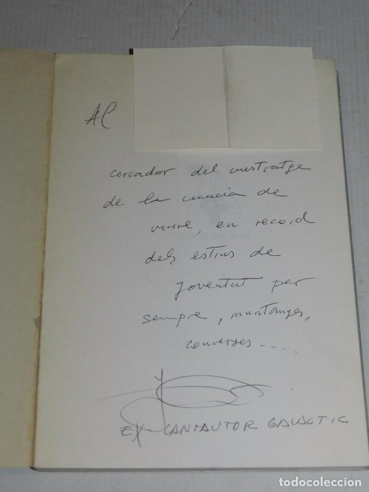 Música de colección: (MF2) LIBRO - JAUME SISA - LLETRES GALACTIQUES 1984, DEDICATORIA AUTOGRAFA DE JAUME SISA - Foto 2 - 69999697