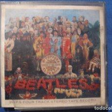 Música de colección: THE BEATLES SGT. PEPPER'S LONELY HEARTS CLUB BAND CINTA DE MAGNETÓFONO ORIGINAL 1968. Lote 72267627