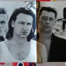 Música de colección: PÓSTER U2 - SYLVESTER STALLONE . Lote 75288554