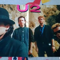 Música de colección: PÓSTER U2 . Lote 75289153