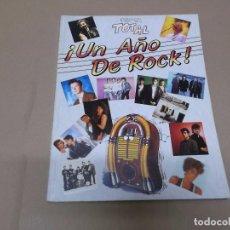 Música de colección: UN AÑO DE ROCK : 1988 (LIBRO) UN AÑO DE ROCK 1988 AÑO 1988. Lote 76678231