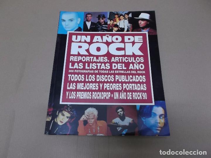 UN AÑO DE ROCK : 1990 (LIBRO) UN AÑO DE ROCK 1990 AÑO 1990 (Música - Varios)