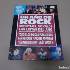 Música de colección: UN AÑO DE ROCK : 1990 (LIBRO) UN AÑO DE ROCK 1990 AÑO 1990. Lote 76678279