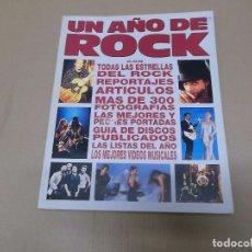 Música de colección: UN AÑO DE ROCK : 1991 (LIBRO) UN AÑO DE ROCK 1991 AÑO 1991. Lote 76678343