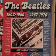 Música de colección: THE BEATLES CARTEL PROMOCIONAL 60X30. Lote 149914690