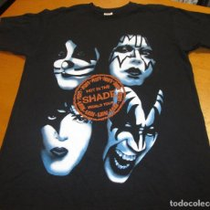 Música de colección: CAMISA, CAMISETA KISS, HOT IN THE SHADE WORLD TOUR, TALLA M, ROCK, AÑOS 90, IMPRESA 2 CARAS. Lote 79343309
