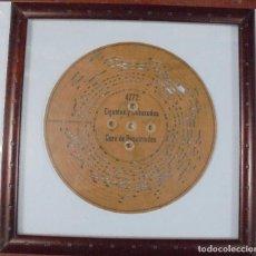 Música de colección: DISCO DE CARTON PERFORADO PARA GRAMOLA. CARNAVAL. CORO DE REPRATIADOS. GIGANTES Y CABEZUDOS. Lote 80176833