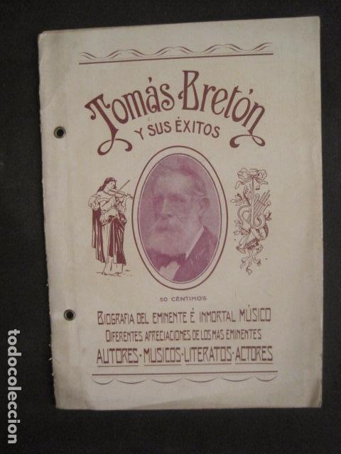 TOMAS BRETON Y SUS EXITOS -VER FOTOS-(V-10.054) (Música - Varios)