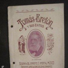 Música de colección: TOMAS BRETON Y SUS EXITOS -VER FOTOS-(V-10.054). Lote 80759366