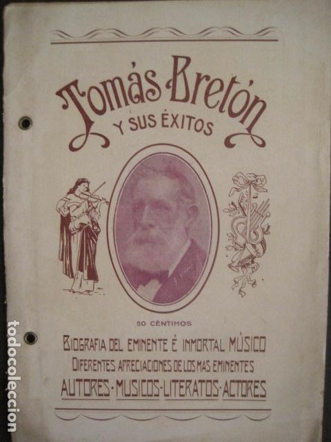 Música de colección: TOMAS BRETON Y SUS EXITOS -VER FOTOS-(V-10.054) - Foto 2 - 80759366