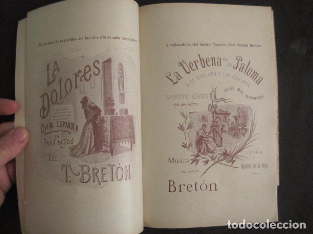 Música de colección: TOMAS BRETON Y SUS EXITOS -VER FOTOS-(V-10.054) - Foto 6 - 80759366