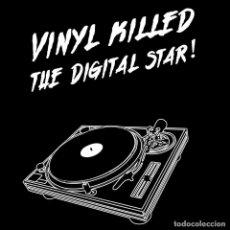Música de colección: VINYL KELLED THE DIGITAL STAR CAMISETA. Lote 81996096