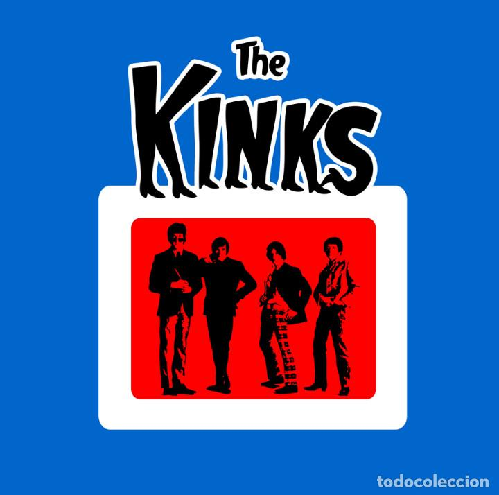 THE KINKS CAMISETA (Música - Varios)