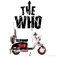 Música de colección: THE WHO CAMISETA. Lote 82006632