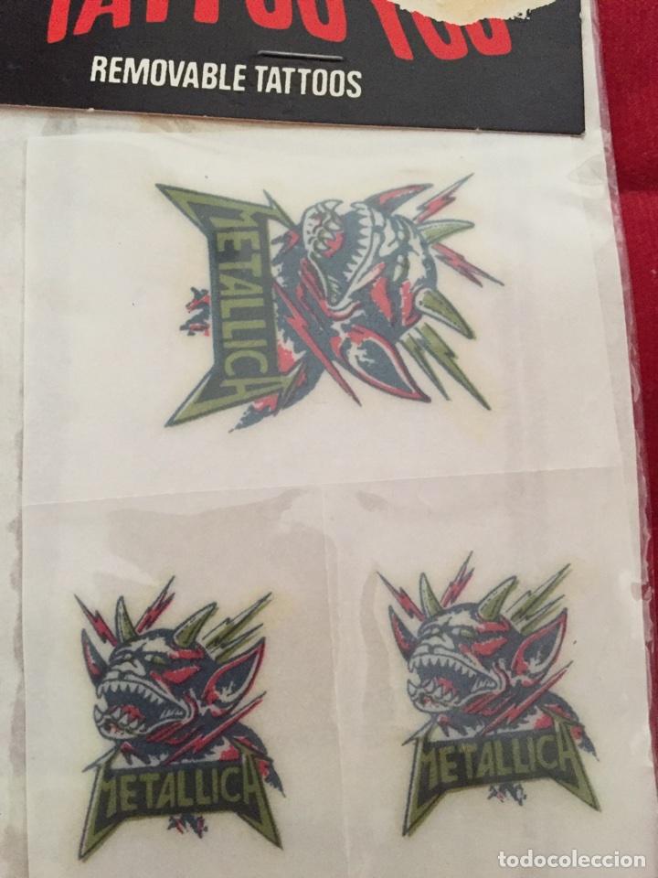 Tatuajes Pegatina tatuajes/ pegatinas metallica - comprar en todocoleccion - 82757416