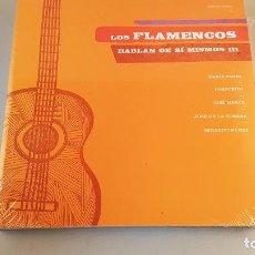 Música de colección: LIBRO Y DVD - LOS FLAMENCOS HABLAN DE SÍ MISMOS III. NUEVO SIN ABRIR.. Lote 83513736