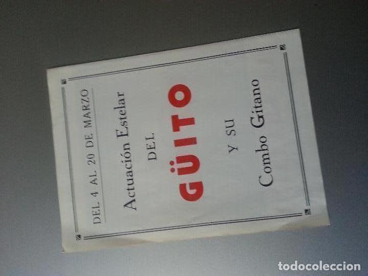 Música de colección: LA GRANAINA Y SU CUADRO FLAMENCO GÜITO Y SU COMBO GITANO TABLAO HOTEL RITZ LOS CLAVELES BARCELONA - Foto 3 - 85066540