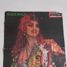 Música de colección: MADONNA PÓSTER. Lote 85656328
