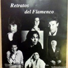 Música de colección: CATALOGO EXPOSICION FOTOGRAFIA RETRATOS DEL FLAMENCO, PACO SANCHEZ, MUY RARO. Lote 86226176