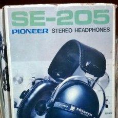 Música de colección: AURICULARES PIONEER SE 205. Lote 87335896