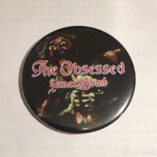 Música de colección: THE OBSESSED - LUNAR WOMB IMÁN NEVERA 59MM - DOOM METAL HEAVY METAL. Lote 87384404
