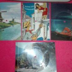 Música de colección: DISCO POSTAL LOTE 4 VARIADOS. Lote 87462639