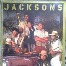 Música de colección: THE JACKSONS - VICTORY TOUR BOOK. PROGRAMA OFICIAL GIRA VICTORY 1984. Lote 87673712