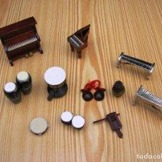 Música de colección: 11 INSTRUMENTOS MUSICALES EN MINIATURA.. Lote 88170024